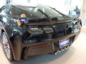 """NEW GM """"CENTER WICKER BILL"""" SPOILER KIT 2014+MY CORVETTE - GM 84056039"""