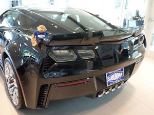 "NEW GM ""CENTER WICKER BILL"" SPOILER KIT 2014+MY CORVETTE - GM 84056039"