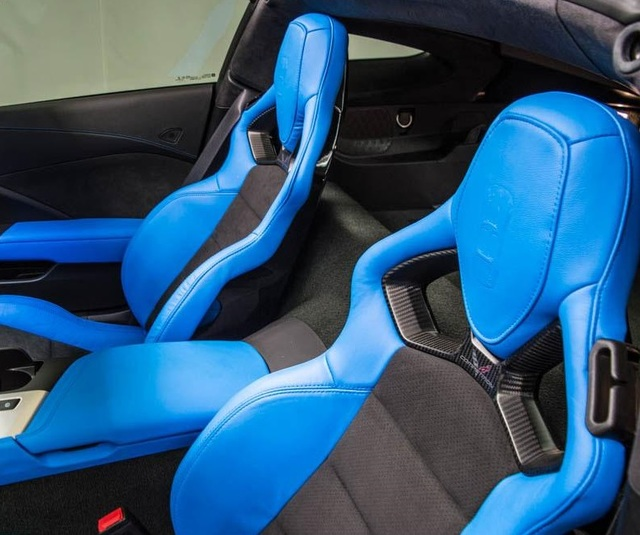 Corvette C7 GM Competition Seat Conversion