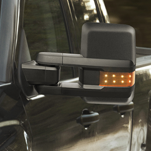MIRROR KIT BLACK (REQUIRES NEW DOOR HARNESSES) (does not power fold) (INCLUDES LEFT & RIGHT MIRROR)