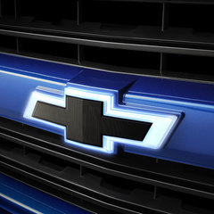 Emblem Package Illuminated Black Grille Bowtie with Black Tailgate Bowtie
