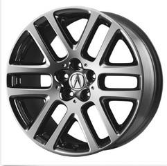 "Genuine Acura ZDX 20"" 10-Spoke Chrome Wheel fits MDX 07-13"
