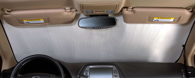 Honda Accord Sedan (2016-2017) Custom Auto Shade with Rearview Mirror Sensor