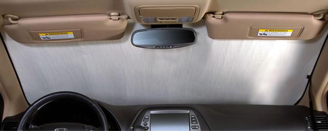 Honda Accord Sedan (2013 - 2015) Custom Auto Shade with Rearview Mirror Sensor