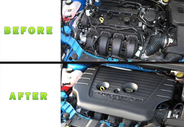 2012-2016 Ford Focus Engine Cover 2.0L Duratec OEM