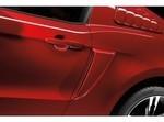 2010-2014 Ford Mustang OEM Side Scoop Painted, (Pair)