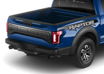 2017 Ford Raptor Tailgate Trim & Bed Decal Kit