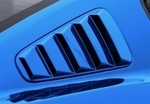 2010-2014 Mustang Painted Window Louvers