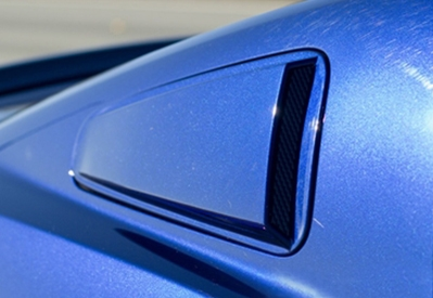 2010-2014 Mustang Painted Window Scoops