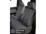 2009-2010 Ford F-150 Seat Covers - Charcoal, Rear SuperCrew 60-40 without Armrest