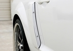 Mustang Billet Side Scoop Inserts Pair