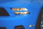2010-2012 Mustang Painted Headlight Splitters