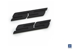 2010-2015 DefenderWorx Chevrolet Camaro SS Badge Matte Black