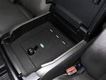2017 Ford Super Duty Vehicle Safe By Console Vault - Captains Chair Console