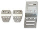 Scott Drake Mustang Billet Manual Pedal Covers