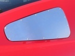 Mustang Window  Block Plate