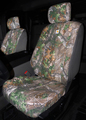 2015-2017 Ford Truck Carhartt Seat Covers - Realtree Xtra, Front Captains Chairs