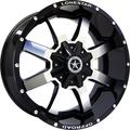 Lonestar Wheels - Gunslinger - Gloss Black with Mirror Face