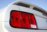 Black Mustang Taillight Trim
