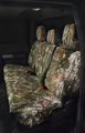 2017 Ford Super Duty Carhartt Seat Covers - Realtree Xtra Green, Rear Crew Cab w/o Armrest