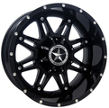 Lonestar Wheels - Outlaw - Gloss Black
