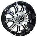 Lonestar Wheels - Ambush - Gloss Black with Mirror Face