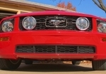 Mustang Silverhorse GT Lower Grille Inserts