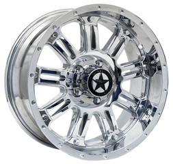 Lonestar Wheels - Ambush - Chrome