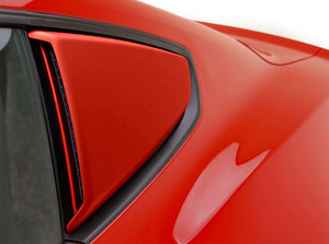 2015-2017 Ford Mustang Quarter Window Scoops