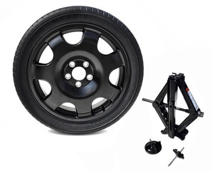 2015-2017 Ford Mustang Spare Tire Kit Genuine Ford OEM Part | FR3Z-1K007-C