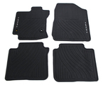 2013-2014 Venza All-Weather Floor Mats - Front and Rear - Black (4 Piece Set)