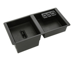 Front Center Console Organizer Tray - Black
