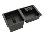 Front Center Console Organizer Tray - Black