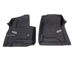 2015-2017 Sierra / Yukon All-Weather Floor Mats - Front w/ Automatic Trans (Black)