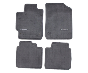 2007-2011 Camry Carpet Floor Mats - Ash / Gray