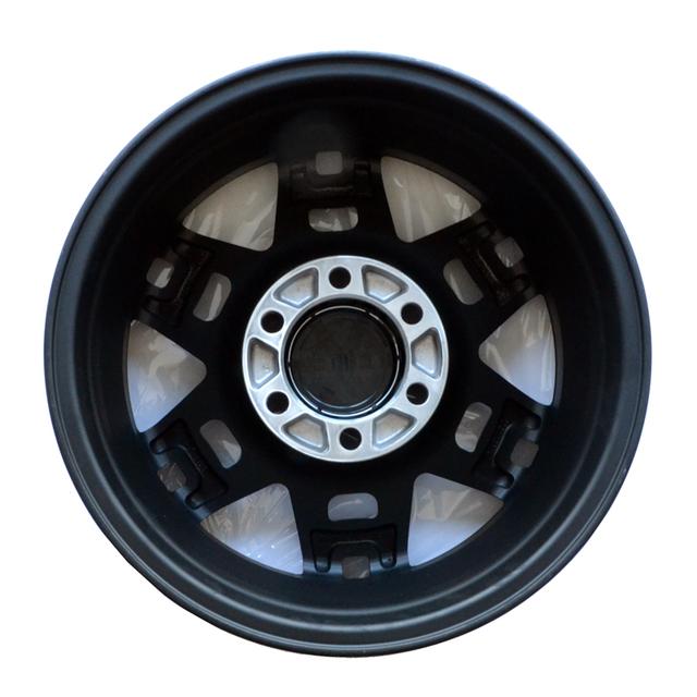 TRD 17-In Alloy Wheel - Matte Black
