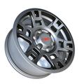 TRD 17-In Matte Gray Alloy Wheel