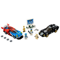 2016 Ford GT and 1966 Ford GT40 V39 Lego Set