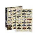 Ford Trucks Evolution 1,000-Piece Jigsaw Puzzle