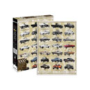 Ford Trucks Evolution 1,000-Piece Jigsaw Puzzle
