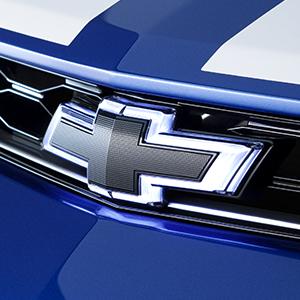 Emblem Kit - Black Illuminated Chevy Bow Tie Emblem