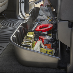 Cargo Under-Seat Storage- Crew Cab