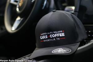 Harper Auto Square Cars & Coffee Flexfit Delta Hat