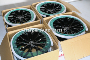 2017 Audi R8 V10 Black Optic Wheel Set