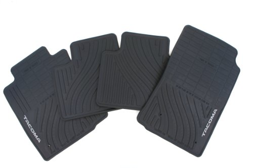 4PC All Weather Mats Black Tacoma Access cab