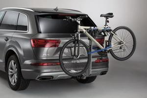 Thule® hitch-mounted carrier - Helium 2-bike