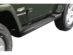 Factory Style Side Steps for 2007-17 Jeep Wrangler JK 2 Door