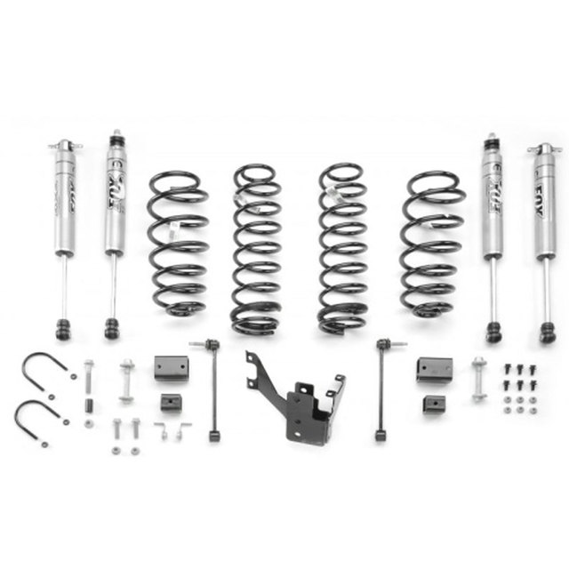 2012-2016 Jeep Wrangler 4-Door 2 Inch Lift Kit FOX Racing Shox (Comes with Free Floor Mats)