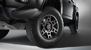 """17"""" Toyota TRD Wheel Black 4Runner, FJ Cruiser, Tacoma"""