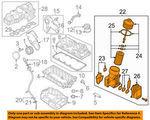 VOLKSWAGEN OEM 12-14 Passat Engine-Oil Filter Housing #22 on Diagram